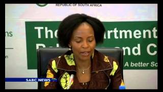 Minister Mashabane media briefing on African diplomat meeting