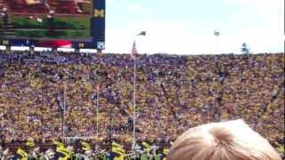 Michigan Stadium Eagle & S