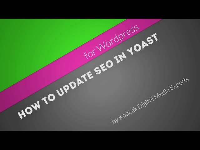 How to set up your blog post for best SEO practices using Yoast for Wordpress