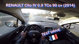 RENAULT Clio IV 0.9 TCe 90 cv (2014) - Test City Drive