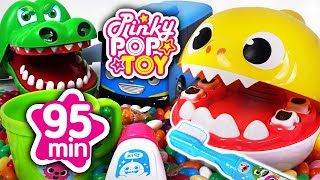 Sep 2018 TOP 10 Videos 80min. Tayo, Baby Shark, Hello Kitty PinkyPopTOY