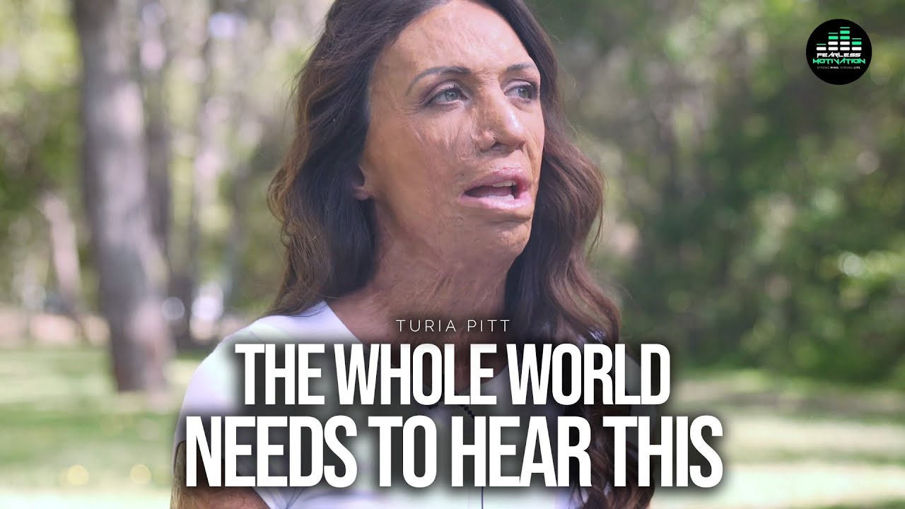 Turia Pitt: Life Is So Precious (The Whole World Needs To Hear This!)
