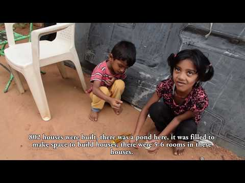 A peek into the lives of a slum in rural Bangalore