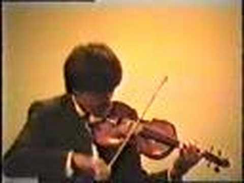 young Leonidas Kavakos plays No5 by Paganini