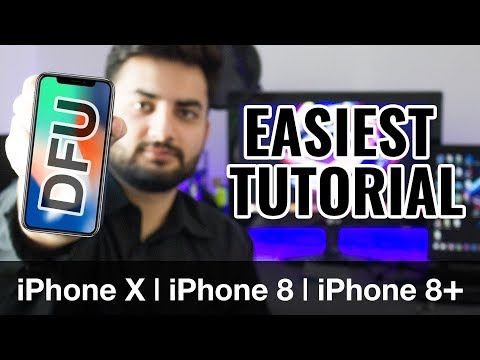 How to Put iPhone X / XR / XS / iPhone 8 / 8 Plus in DFU mode | Restore Mode Tutorial