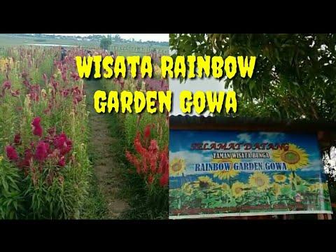 Rainbow Garden Gowa ( wisata terbaru di gowa) - YouTube