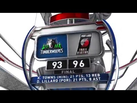 Minnesota Timberwolves vs Portland Trail Blazers - January 31, 2016