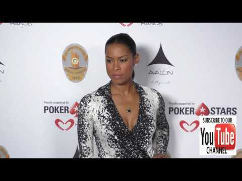 Kearran Giovanni at the Los Angeles Police Memorial Foundation Celebrity Poker Tournament at Avalon