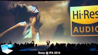 Sony IFA 2014 - Xperia Z3, Z3 Compact, Z3 Tablet Compact, Smartwatch 3 and Smartband Talk
