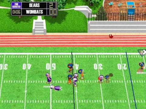 backyard football 2002 season playthrough game 10 chicago bears vs