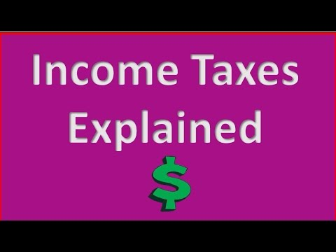 Income Taxes Explained