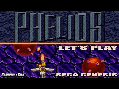 Let's Play Phelios for the Sega Genesis