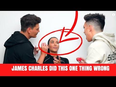 JAMES CHARLES CAN'T DO MAKEUP thumbnail