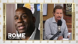 Jim Rome gives his take on Magic Johnson's decision to abruptly step down as Lakers president before the final regular season game. SUBSCRIBE TO OUR ...