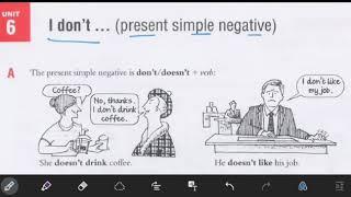 درس ۶ از کتاب Essential Gramma…