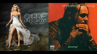Blew Iverson Away - Carrie Underwood vs. Post Malone (Mashup)
