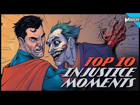 Top 10 Injustice Comic Moments!
