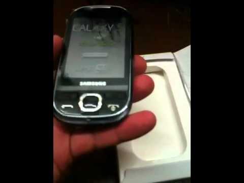 Samsung Galaxy 5 unboxing