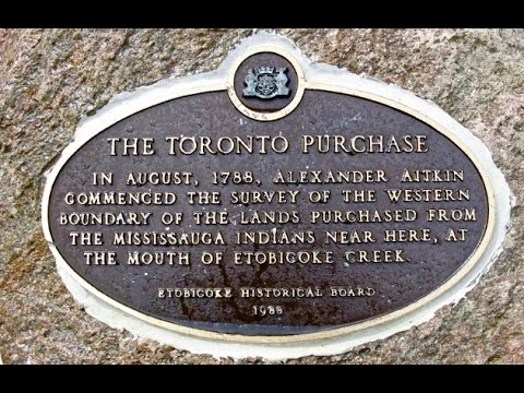 The Toronto Purchase: Treaty 13 - Mississaugas Of The New Credit First  Nation