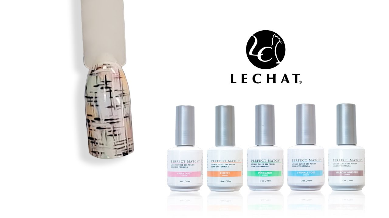 Lechat Nail Tutorial Fairy Collection Youtube