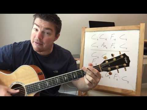 Ask Me How I Know | Garth Brooks | Beginner Guitar Lesson