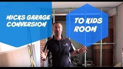 Garage Conversion Into A Bedroom - Mad Micky's Project