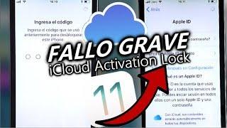 SUPER FALLO DE SEGURIDAD En iCloud ! iOS 11 y 11.1 Desactivar Activación Lock