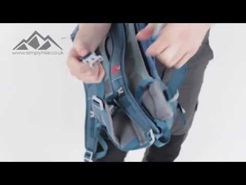 20564282d5fc5 Mammut Womens Crea Tour 25 Rucksack Dark Pacific - www.simplyhike.co.uk -  YouTube