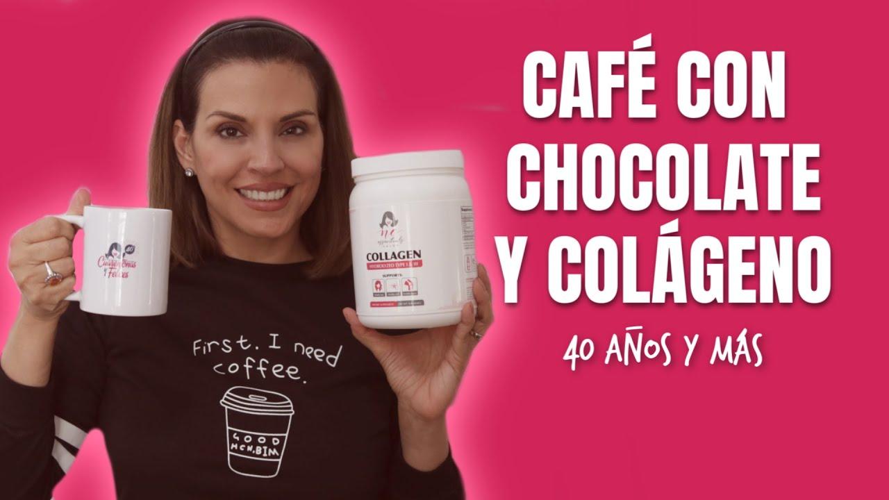 Café con Chocolate y Colágeno | Cuarentonas y Felices Colágeno Hidrolizado