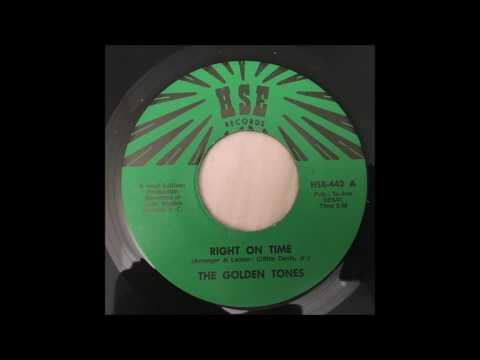 The Golden Tones - Right On Time