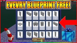 HOW TO GET EVERY BLUEPRINT IN THE GAME FOR FREE! [NOT PATCHED] LUMBER TYCOON 2 ROBLOX WITH EXPLOITS