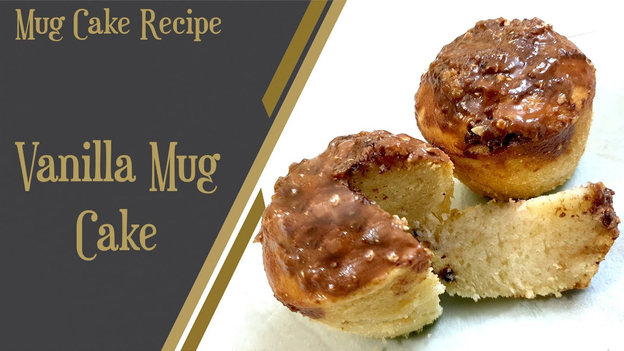 Vanilla cake recipe/Mug cake/Vanilla mug cake/Basic mug ...