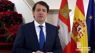 Mañueco lanza un mensaje de optimismo para 2021
