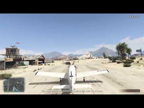 Dumbest pilot ever! - GTA Online The Prison Break
