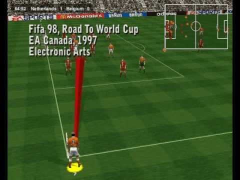 Fifa 98 Road To World Cup Gameplay