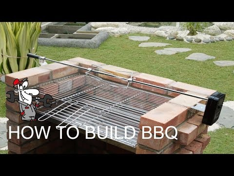How to Build BBQ Gril | DIY Barbecue