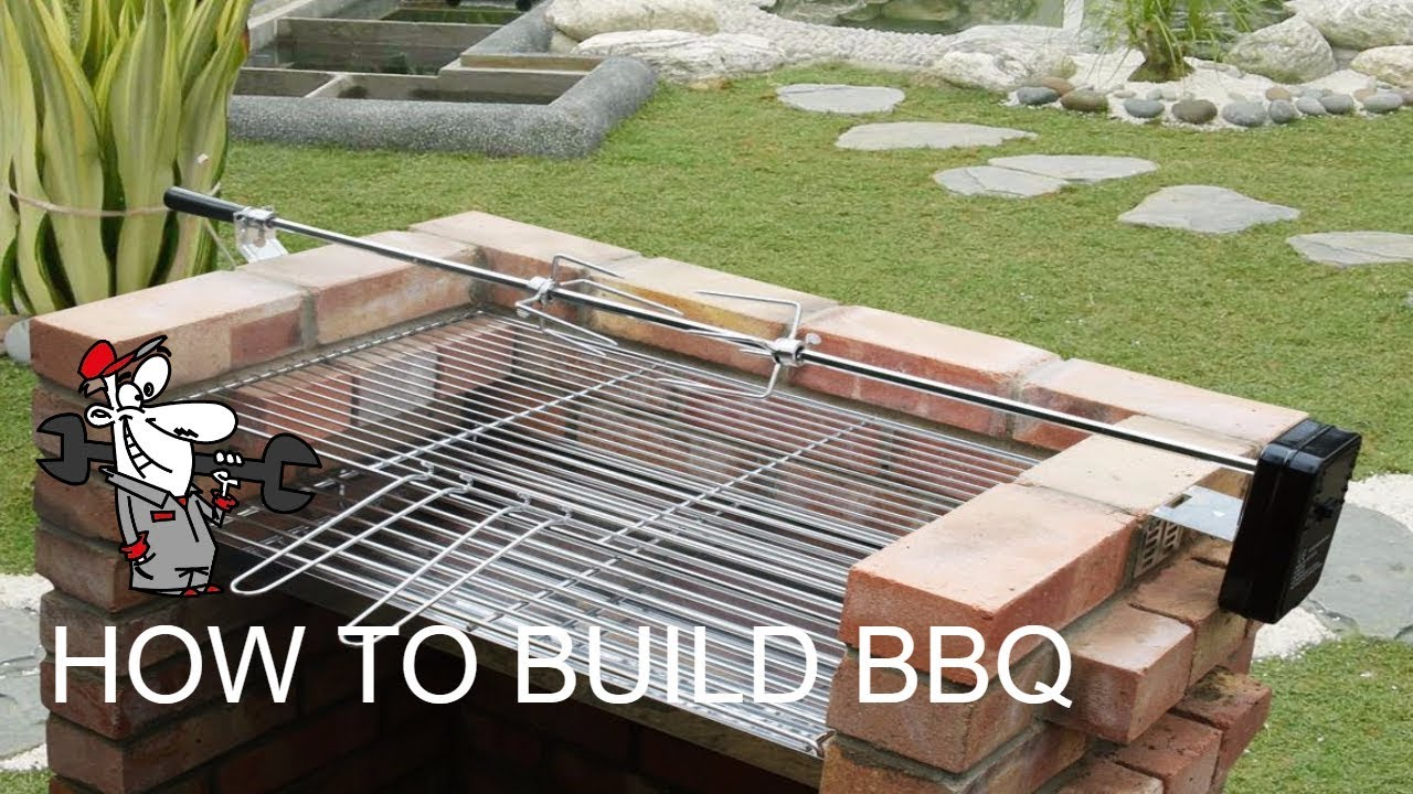 How To Build Bbq Gril Diy Barbecue