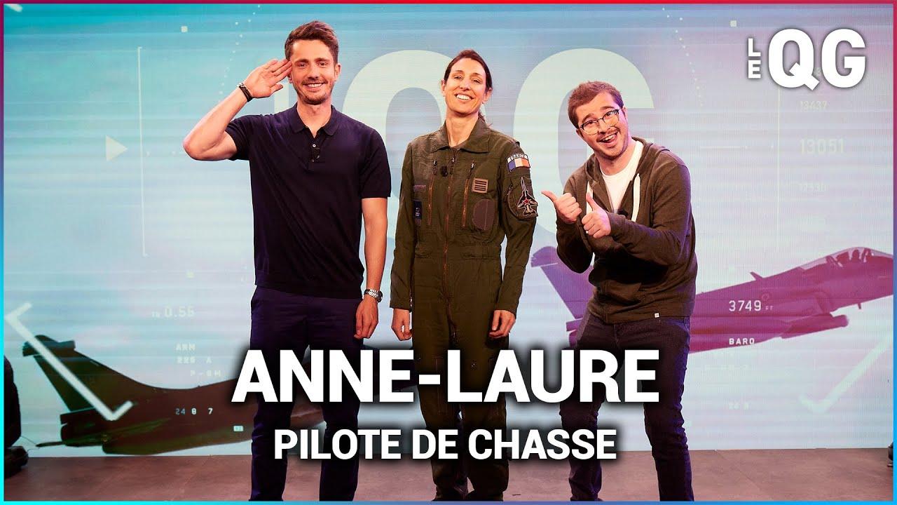 LE QG 73 - LABEEU & GUILLAUME PLEY avec ANNE-LAURE (PILOTE DE CHASSE)