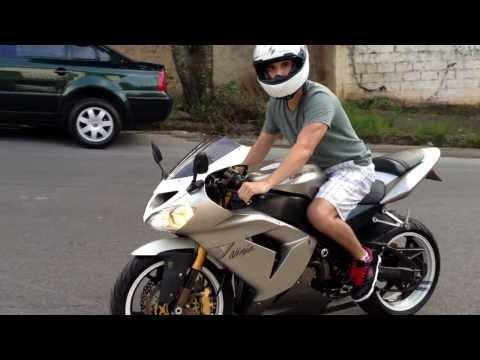 Kawasaki Zx10r titanium 2005 street pull