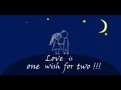 Любовь это одно желание на двоих /Love is one wish for two !