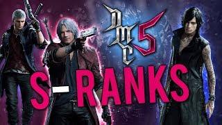 Devil May Cry 5 - Walkthrough - S Rank Runs - Part 9 - Platinum Trophy?