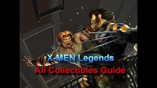 X-MEN Legends All Collectibles (mostly) Guide PS2