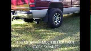 "Cummins Dodge Diamond Eye exhaust 4"" Trubo back,Issues & fixes."