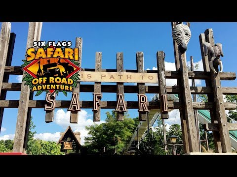 Safari Off Road Adventure || Six Flags Great Adventure, New Jersey, Part 1