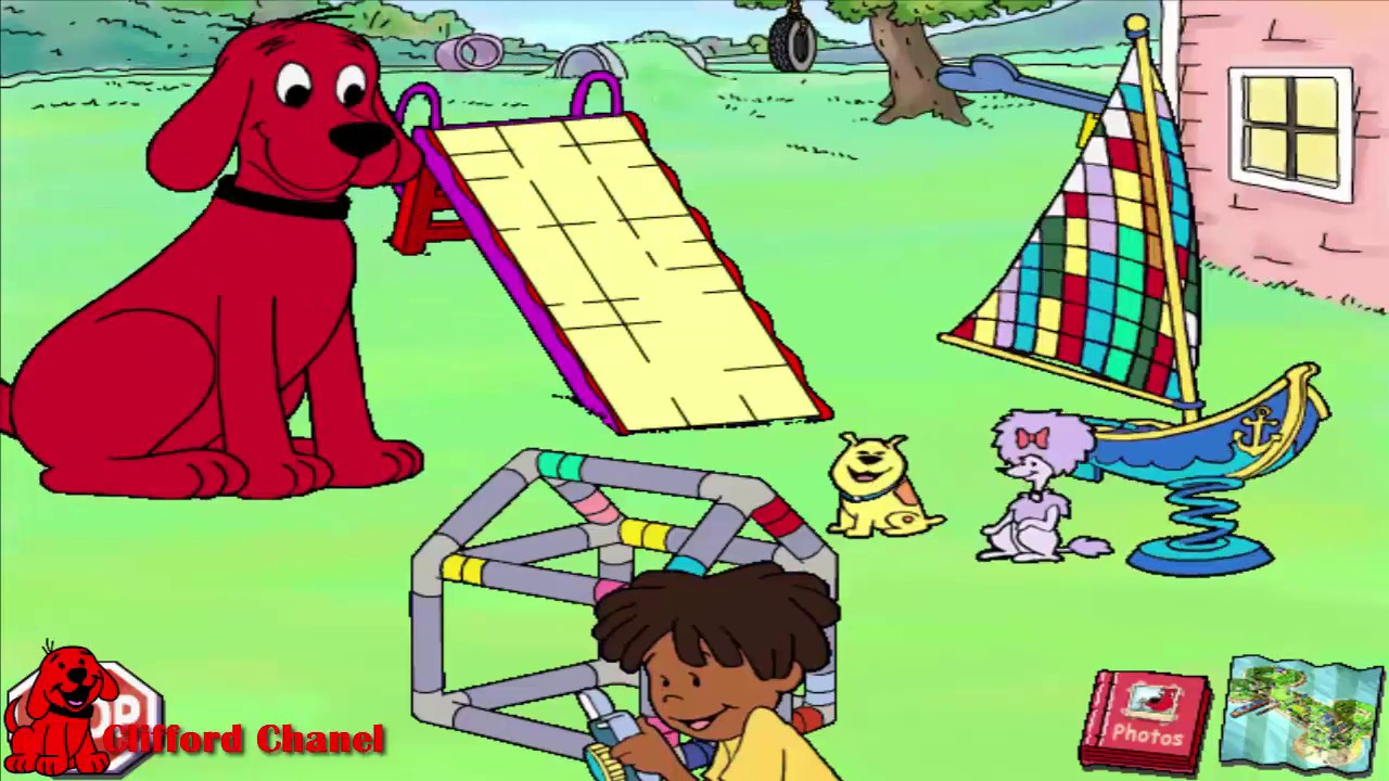 Clifford the Big Red Dog: Thinking Adventures (2000 Video ...