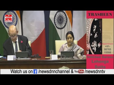 Press Statement_ Visit of Minister for Europe and Foreign Affairs of France to India