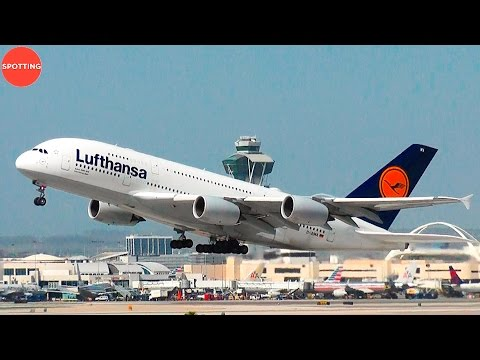 Afternoon Heavies at Los Angeles International Airport | 30 Mins HD Plane Spotting from LAX!