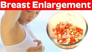 Home Remedies for Breast Enlargement  | Natural Breast Enlargement Beauty Tips