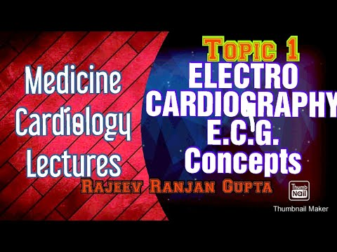 ELECTROCARDIOGRAPHY PART 1 , ECG , CARDIOLOGY , MEDICINE LECTURES #cardiology