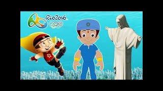 RIO 2016 Olympics fever at Dholakpur & Aryanagar